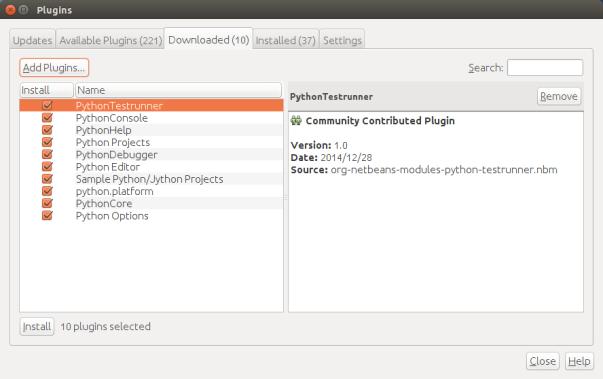 添加好的Python插件