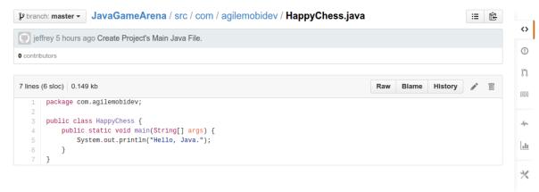 顯示源代碼的網頁